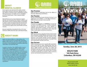 NAMI Walks Brochure